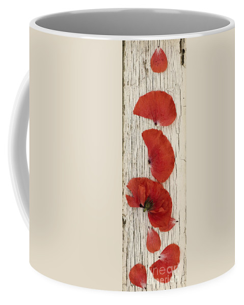 Popppy Coffee Mug featuring the photograph Memories Of A Summer Vertical by Priska Wettstein