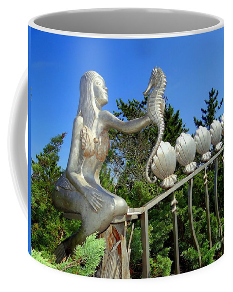 Nature Coffee Mug featuring the photograph Mermaid's Best Friend by Ed Weidman