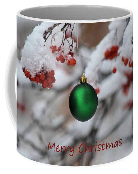 Christmas Coffee Mug featuring the photograph Merry Christmas 4 by Whispering Peaks Photography