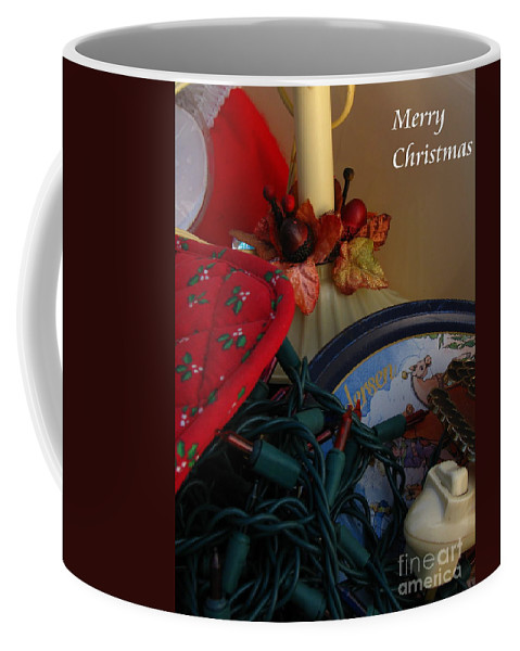 Patzer Coffee Mug featuring the photograph Merry Christmas by Greg Patzer