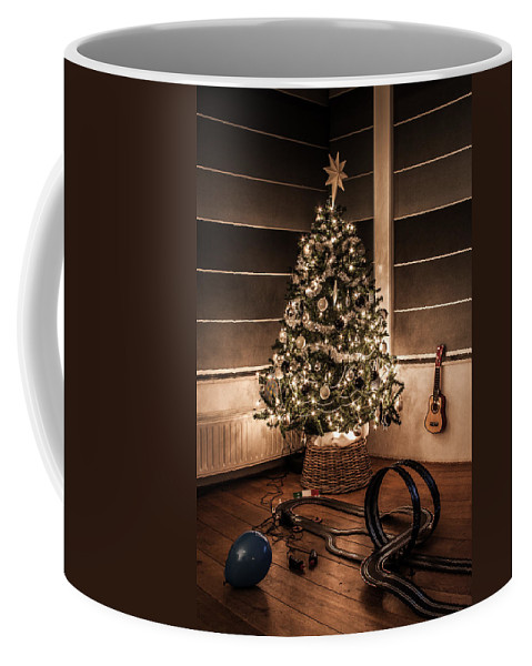 Apartment Coffee Mug featuring the photograph Merry Christmas by Semmick Photo