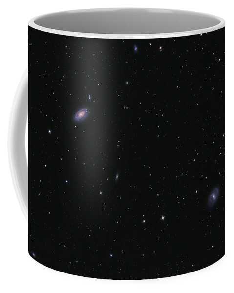 Horizontal Coffee Mug featuring the photograph Messier 88 And Messier 91 by Lorand Fenyes