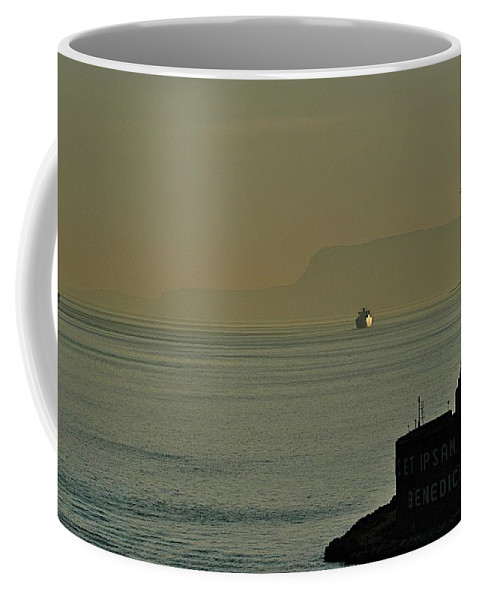 Architecture Coffee Mug featuring the photograph Messina Entry by Joseph Yarbrough