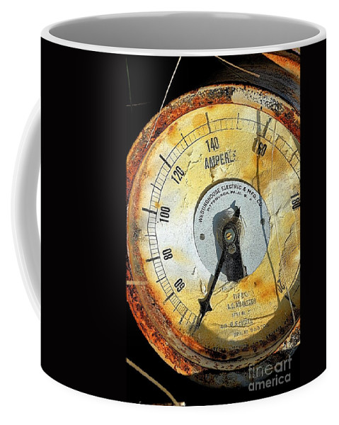 Stract Coffee Mug featuring the photograph Metered Out by Lauren Leigh Hunter Fine Art Photography