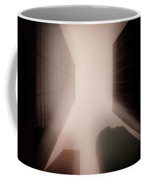 Houston Coffee Mug featuring the photograph Metropolis by Dave Bowman