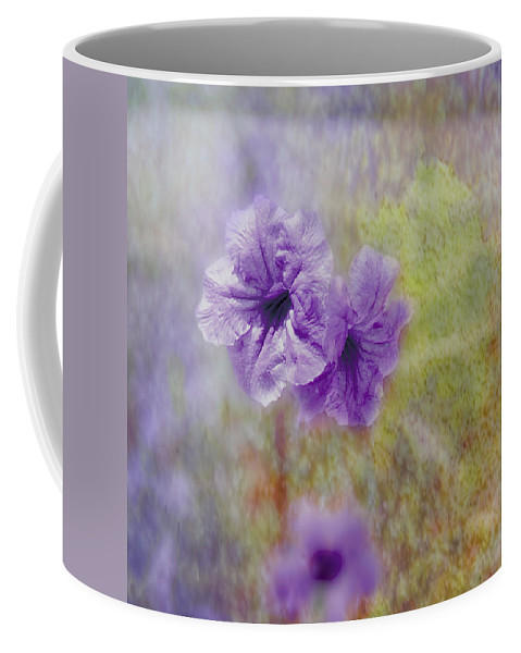 Flowers Coffee Mug featuring the photograph Mexican Petunia by Judy Hall-Folde