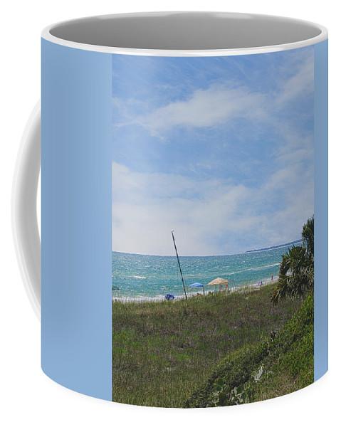 Mexico Coffee Mug featuring the photograph Mexico Beach Summer by Judy Hall-Folde