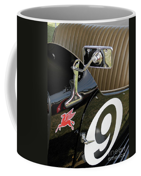 Mg Coffee Mug featuring the photograph Mg Racer by Neil Zimmerman