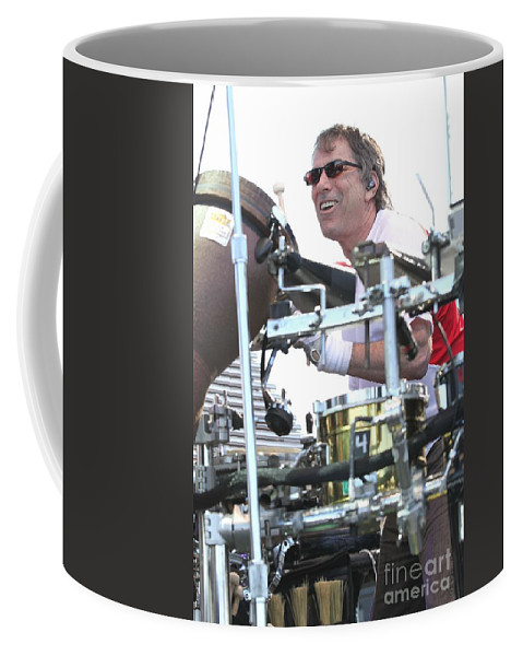Photos For Sale Coffee Mug featuring the photograph Mickey Hart Band by Concert Photos
