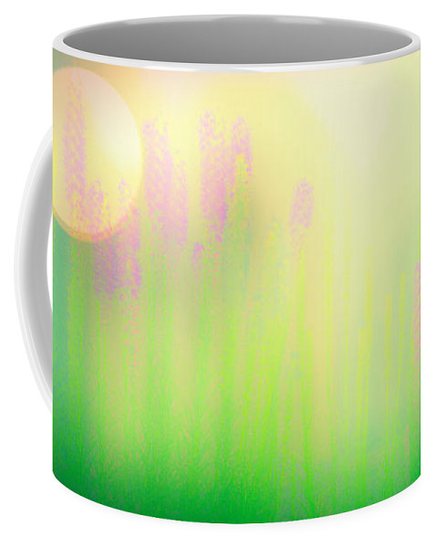 Flower Coffee Mug featuring the photograph Mid Summer Morning by Bob Orsillo