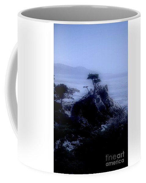 Cypress Coffee Mug featuring the photograph Midnight Cypress by Kathleen Struckle