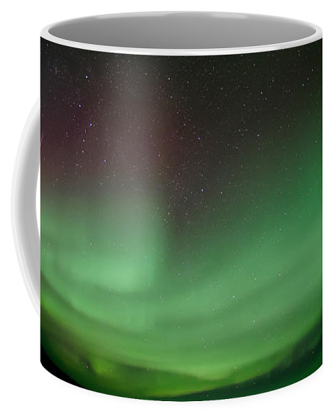 Phenomen Coffee Mug featuring the photograph Midnight Dome by Priska Wettstein