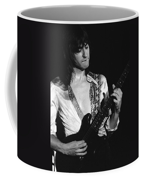 Head East Coffee Mug featuring the photograph Mike Somerville Of Head East 18 by Ben Upham