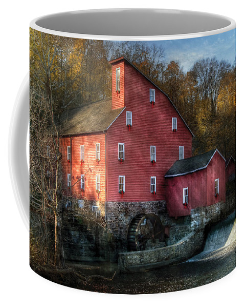 Savad Coffee Mug featuring the photograph Mill - Clinton Nj - The Old Mill by Mike Savad