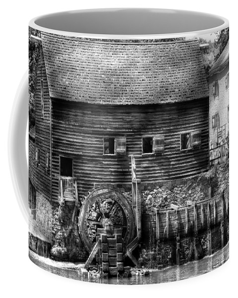 Savad Coffee Mug featuring the photograph Mill - Sleepy Hollow Ny - By The Mill by Mike Savad