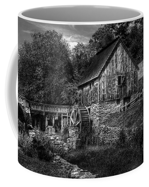 Savad Coffee Mug featuring the photograph Mill - The Mill by Mike Savad
