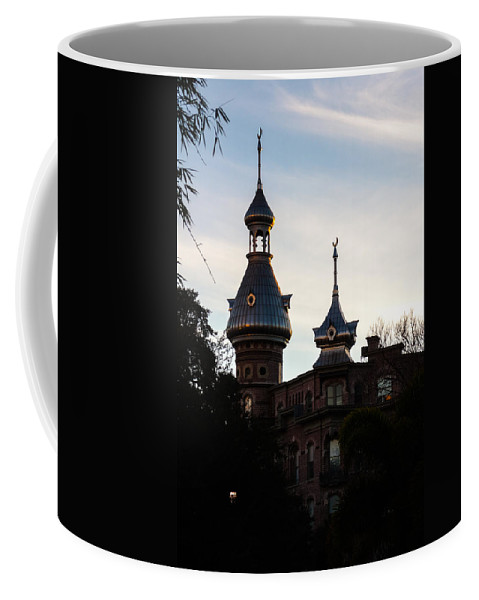America's Gilded Age Coffee Mug featuring the photograph Minaret And Turret by Ed Gleichman