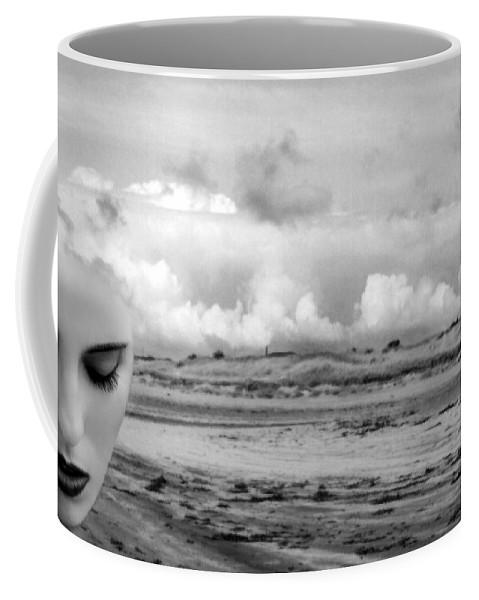 Art Coffee Mug featuring the photograph Minds Eye by Jaeda DeWalt