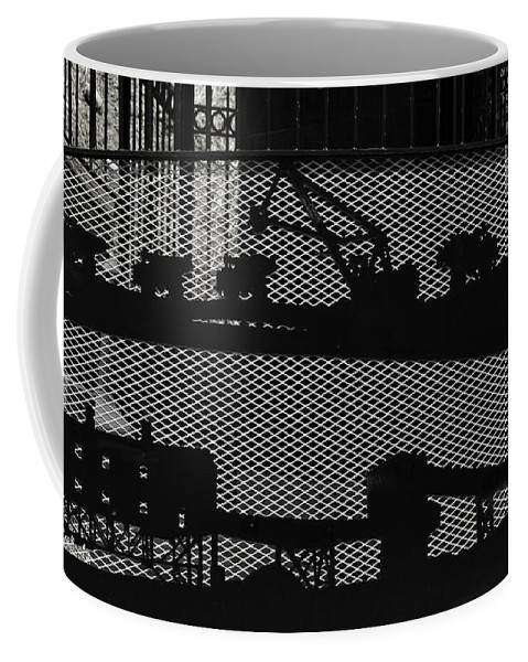 Butte Coffee Mug featuring the photograph Mining by Image Takers Photography LLC - Carol Haddon
