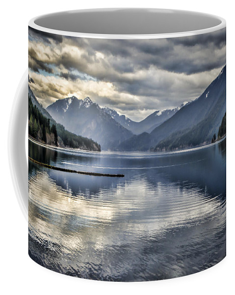 Lake Coffee Mug featuring the photograph Mirror Image by Heather Applegate