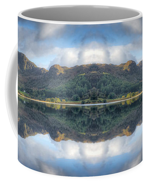 Hdr Coffee Mug featuring the photograph Mirror Lake by Adrian Evans