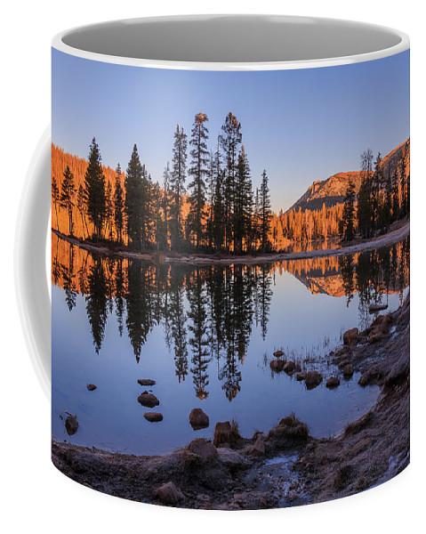 Gigimarie Coffee Mug featuring the photograph Mirror Lake Dawn by Gina Herbert