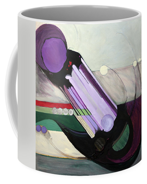 Kavanah Coffee Mug featuring the painting Misheberach by Marlene Burns