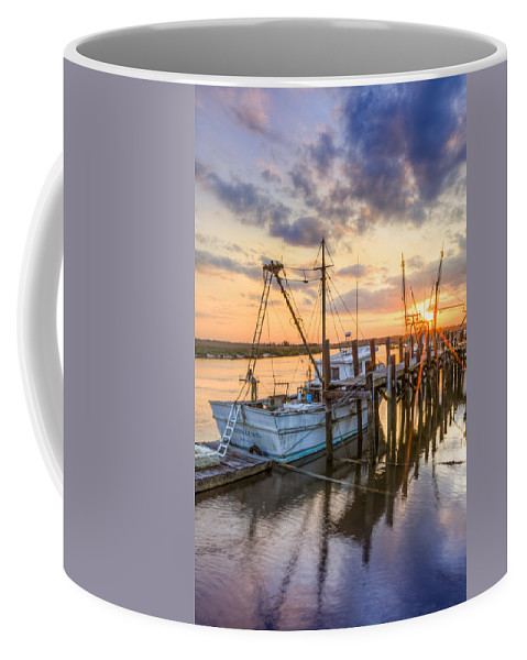 Boats Coffee Mug featuring the photograph Miss Lewis by Debra and Dave Vanderlaan