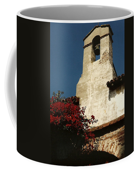 San Juan Capistrano Mission Coffee Mug featuring the photograph Mission San Juan Capistrano by Marilyn Wilson