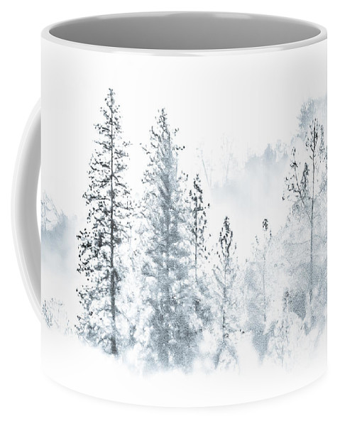 Mountain Coffee Mug featuring the photograph Misty Mountain by Susan Eileen Evans