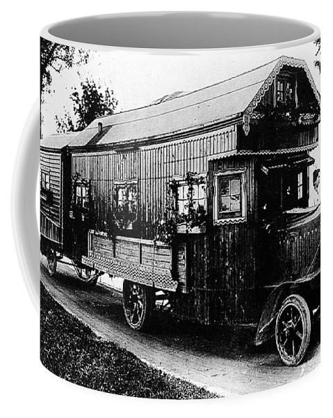 1922 Coffee Mug featuring the photograph Mobile Home, 1922 by Granger