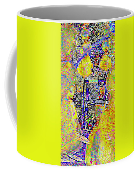 Chair Coffee Mug featuring the photograph Mobility Of The Mind by Diane montana Jansson