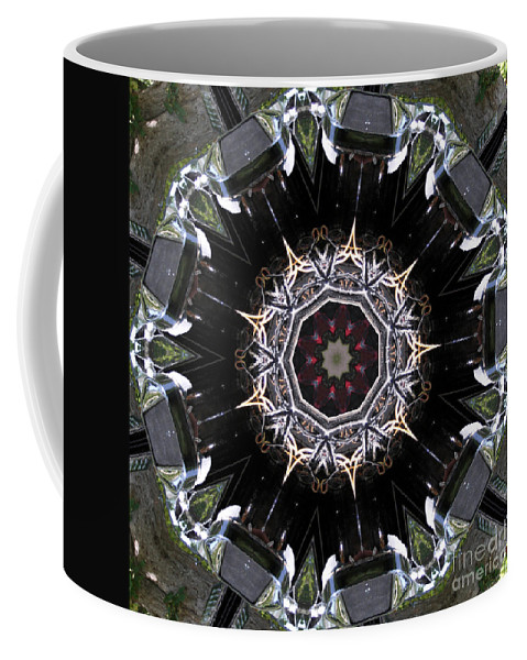 Auto Coffee Mug featuring the photograph Model T Kaleidoscope by Alan Look