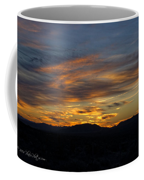 Landscapes Coffee Mug featuring the photograph Mojave Desert Sunrise by Jim Thompson