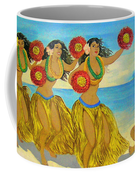 Hawaii Iphone Cases Coffee Mug featuring the photograph Moloka'i Hula 2 by James Temple
