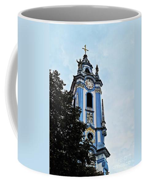 Travel Coffee Mug featuring the photograph Monastic Church by Elvis Vaughn