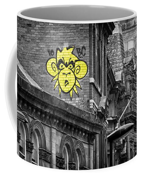 Monkey Coffee Mug featuring the photograph Monkey by David Pringle