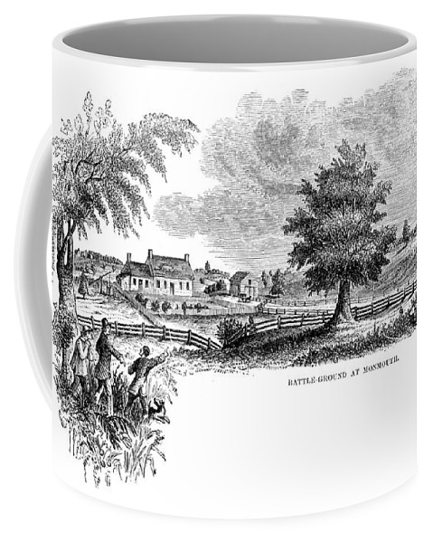 1777 Coffee Mug featuring the photograph Monmouth Battlefield by Granger