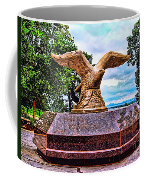 9/11 Coffee Mug featuring the photograph Monmouth County 9/11 Memorial by Nick Zelinsky