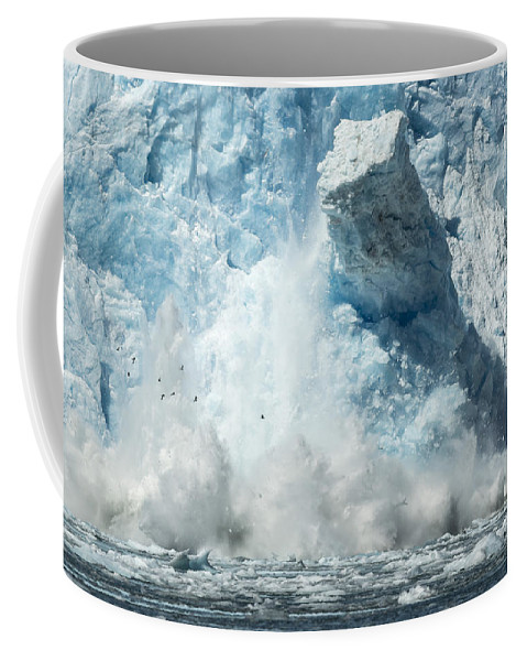 Glacier Coffee Mug featuring the photograph Monolith by Ted Raynor