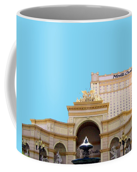 Monte Carlo Coffee Mug featuring the photograph Monte Carlo by Will Borden