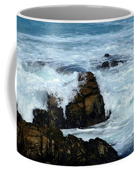 Monterey Coffee Mug featuring the photograph Monterey-2 by Dean Ferreira
