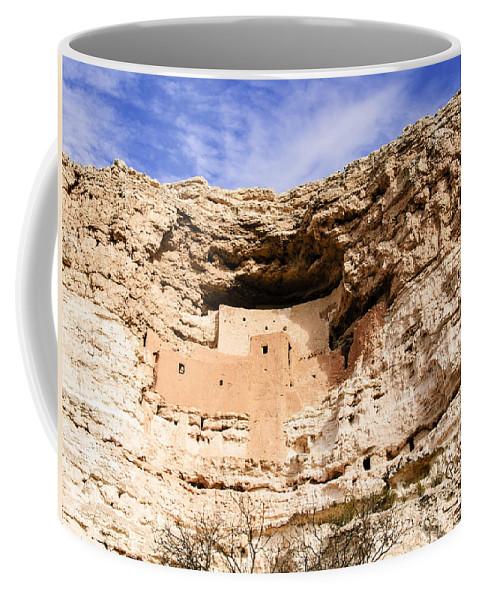 Pennysprints Coffee Mug featuring the photograph Montezuma Castle by Penny Lisowski