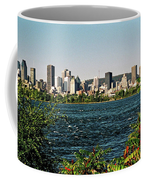 North America Coffee Mug featuring the photograph Montreal - Sur Le Fleuve by Juergen Weiss
