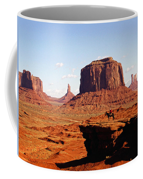 Monument Valley Coffee Mug featuring the photograph Monument Valley by Kurt Van Wagner
