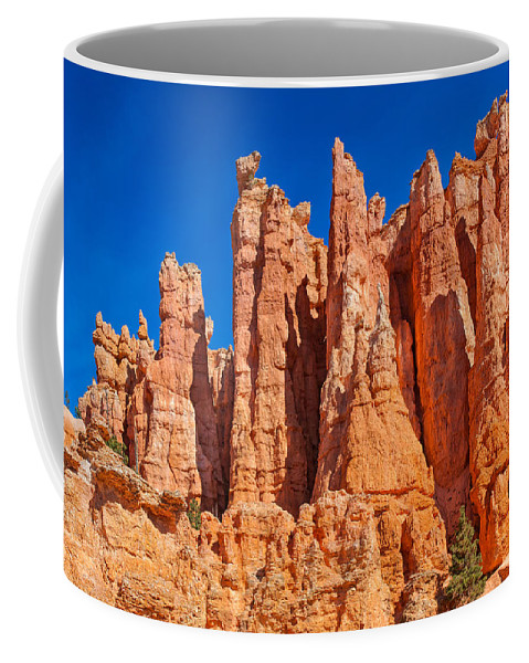 Landscape Coffee Mug featuring the photograph Monuments Of Time by John M Bailey