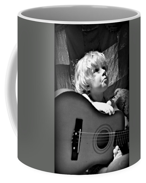 Sad Coffee Mug featuring the photograph Mood Strings by Ally White