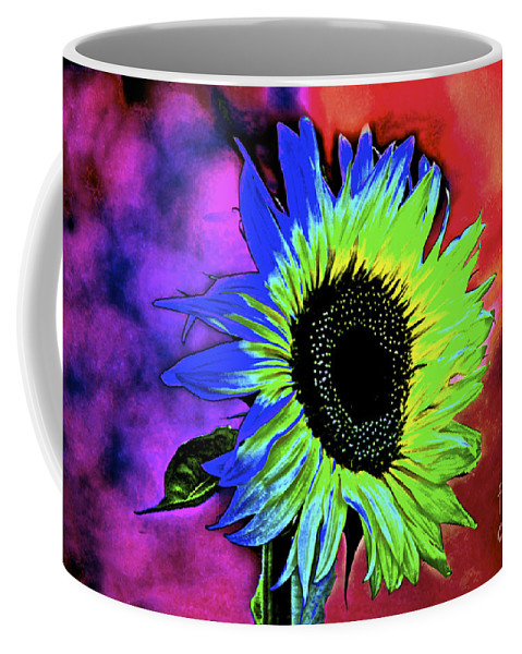 Sunflower Coffee Mug featuring the photograph Moody by Gwyn Newcombe