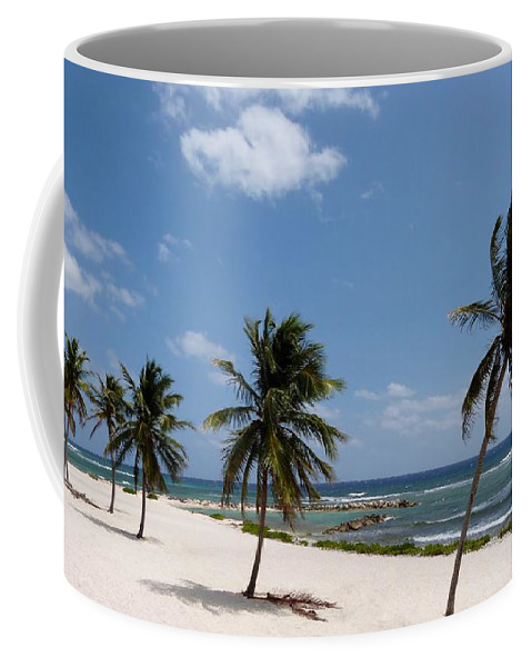 Color Coffee Mug featuring the photograph Moon Bay by Amar Sheow