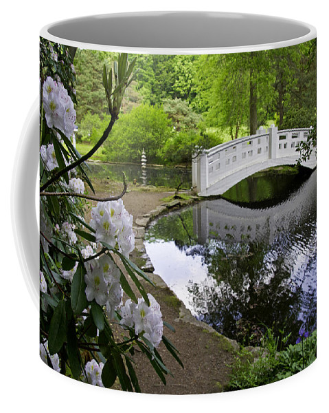 Moon Bridge Coffee Mug featuring the photograph Moon Bridge by David Freuthal